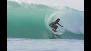 Mary Huang Surfing